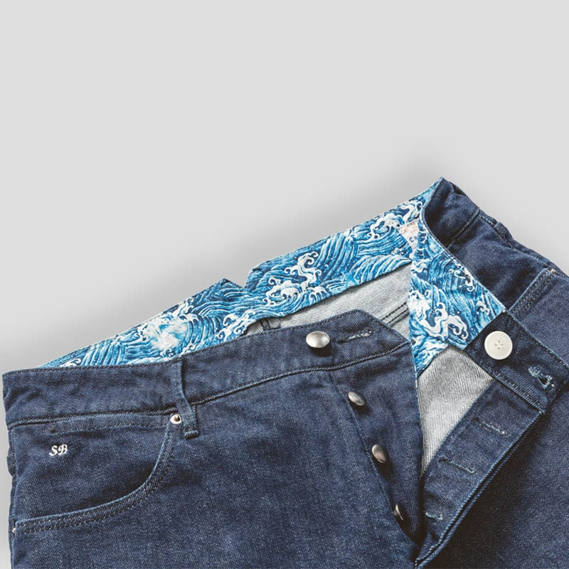 Alferano Denim Jeans Mass