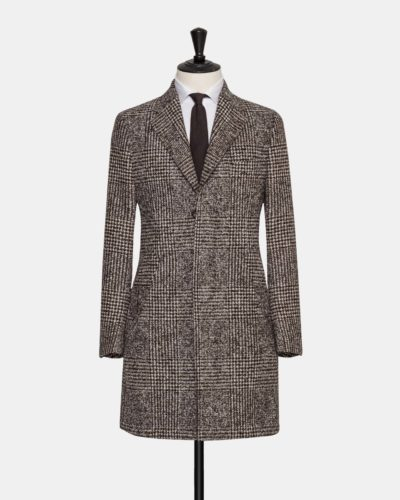 Made-to-measure coat, tailored by Alferano