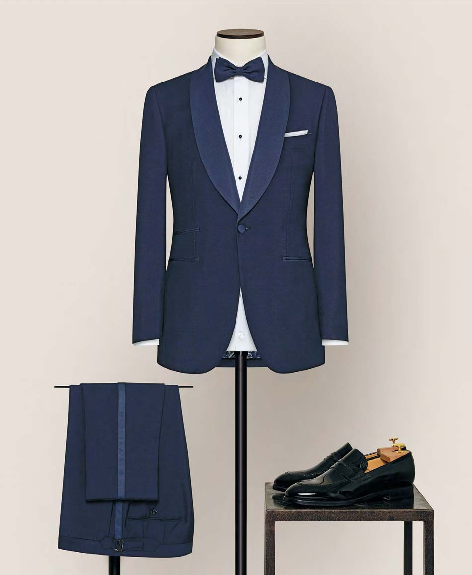Made-to-measure wedding suit, tailored by Alferano